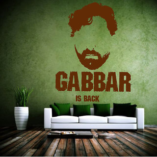 Decor Villa Gabbar Is Back Wall Decal & Sticker