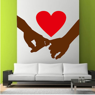 Decor Villa Hold My Hand Wall Wall Decal  Sticker available at ShopClues for Rs.169