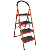 NSD RED STEP LADDER-4 STEPS