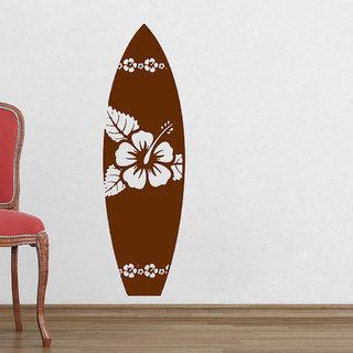 Decor Villa Surfboard Wall Decal & Sticker