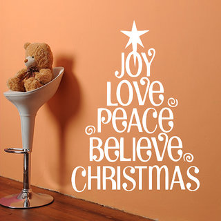 Decor Villa Joy Love Peace Wall Decal & Sticker
