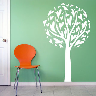 Decor Villa Last Heart Tree Wall Decal & Sticker