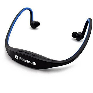 Futaba Sports Hands-free Wireless Bluetooth V3.0 High Quality Stereo Music Headsets with Mic Calling for Smart Phone - Blue