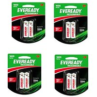 Eveready Ultima 600 MAh AAA 8 Pc Battery Combo