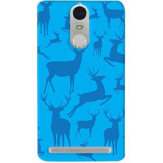 Oyehoye Animal Pattern Style Printed Designer Back Cover For Lenovo K5 Note Mobile Phone - Matte Finish Hard Plastic Slim Case