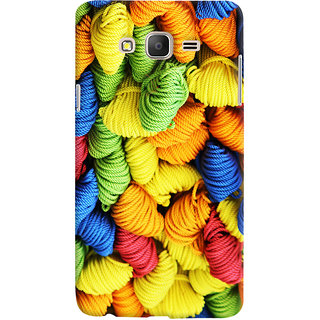 Oyehoye Colourpul Pattern Style Printed Designer Back Cover For Samsung Galaxy ON5 Mobile Phone - Matte Finish Hard Plastic Slim Case