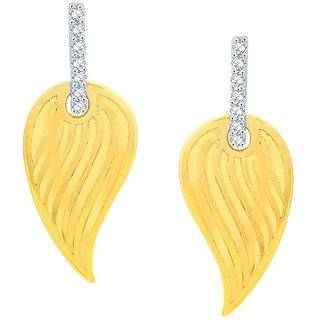 Beautiful sparkling diamond  Earrings VDE00070SI-JK18Y