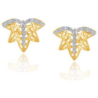 Beautiful sparkling diamond  Earrings BAEP707SI-JK18Y