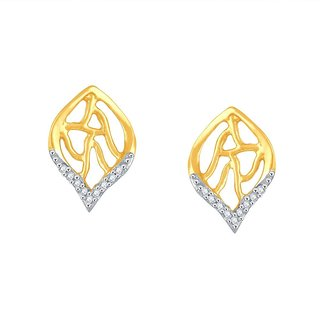 Beautiful sparkling diamond  Earrings BAEP709SI-JK18Y