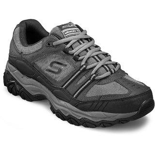 Skechers Strike Off Men's Navy,Gray Sport Shoes