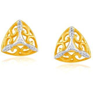 Beautiful sparkling diamond  Earrings BAEP717SI-JK18Y