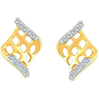 Beautiful sparkling diamond  Earrings BAEP716SI-JK18Y