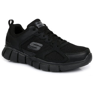 Skechers Equ. 2.0 Men's Black Sport Shoes