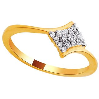 Beautiful sparkling diamond  Ring DDR00809SI-JK18Y