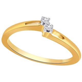Beautiful sparkling diamond  Ring JRK019SI-JK18Y