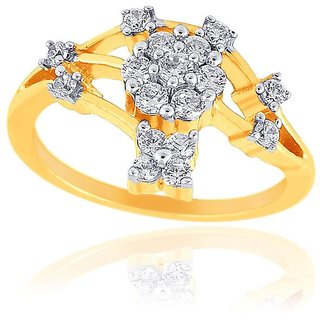 Beautiful sparkling diamond  Ring NRC133SI-JK18Y