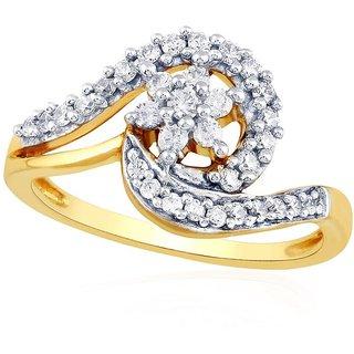 Beautiful sparkling diamond  Ring NRC408SI-JK18Y