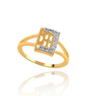 Beautiful sparkling diamond  Ring YDR00422SI-JK18Y