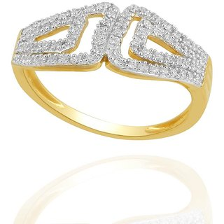 Beautiful sparkling diamond  Ring PR21173SI-JK18Y