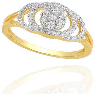 Beautiful sparkling diamond  Ring PR21347SI-JK18Y