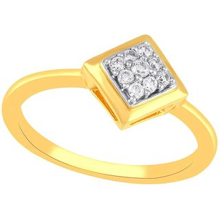 Beautiful sparkling diamond  Ring YDR00164SI-JK18Y