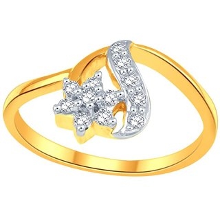 Beautiful sparkling diamond  Ring CR762SI-JK18Y
