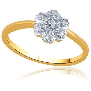 Beautiful sparkling diamond  Ring PR20051SI-JK18Y