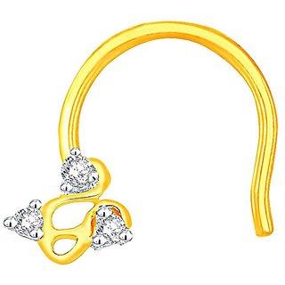 Beautiful sparkling diamond  Nosepin RDJ00001SI-JK18Y