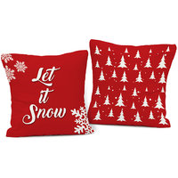 Let It Snow Cushions Pair
