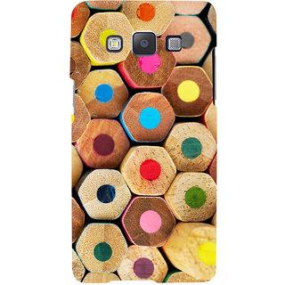 Oyehoye Colourful Pattern Style Printed Designer Back Cover For Samsung Galaxy E5 Mobile Phone - Matte Finish Hard Plastic Slim Case