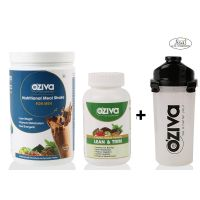 Oziva Combo Pack Of Nutritional Meal Shake, Men And Lean & Trim 120 Tablets