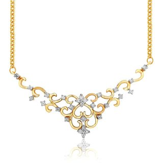 Beautiful sparkling diamond  Tanmaniya PRA1T3438SI-JK18Y