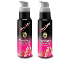 Ks Strawberry Personal Lubricant 100Ml Pck 2