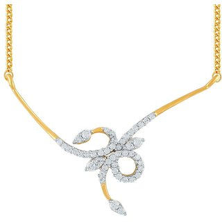 Beautiful sparkling diamond  Tanmaniya YP309SI-JK18Y