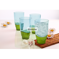 Tupperware Eleganzia Tumblers Set Of 4 (475 Ml Each)