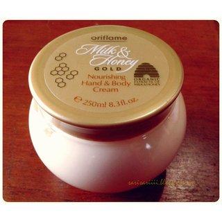 Milk And Honey Gold Nourishing Hand And Body Cream