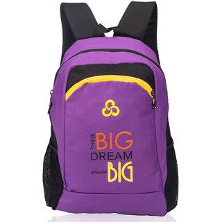 Cosmus Multicolor Zip Closure Backpack