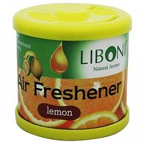 Liboni Car Gel Air Freshener - Lemon
