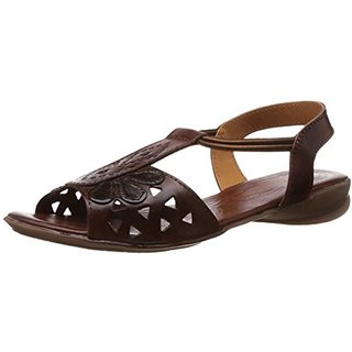 878dd5673 Catwalk Womens Brown Slip on Sandals available at ShopClues for Rs.1187