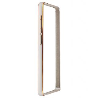 Samsung Galaxy A5 Bumper Case Cover Silver With USB Light