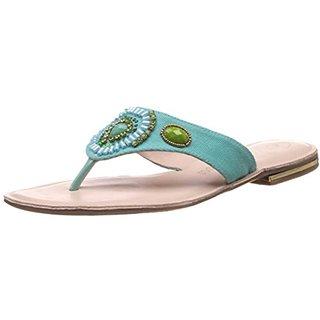 Catwalk Women Light Blue Slip on Flats