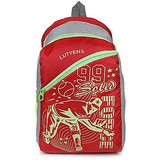 Lutyens Multicolor Zip Closure,Water Resistant Backpack