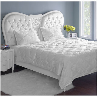 Stoa Paris Quilted Bedspread or Comforter with Pillow Covers (Comforter Set (Double))
