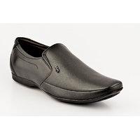 Lee Copper Men's Black Slip On Formal Shoes - 102208025