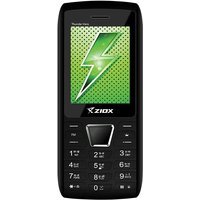 Ziox Thunder Hero Dual SIM Feature Phone (Black-Red)