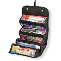 Roll N Go Multi-Purpose Cosmetic Toiletry Shaving Jewelry Bag Organizer