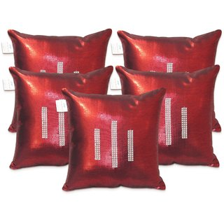 Regular Cushion Covers 16X16 Inches (Pack Of 5)