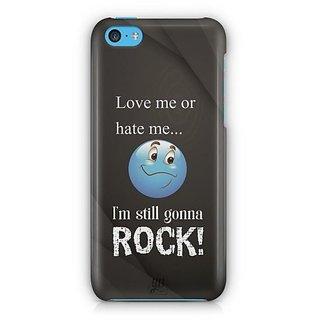 YuBingo I am Gonna Rock Designer Mobile Case Back Cover for Apple iPhone 5C