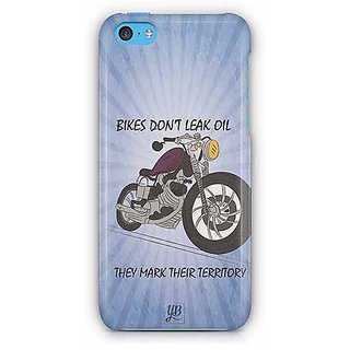 YuBingo Bikes Don't Leak Oil Designer Mobile Case Back Cover for Apple iPhone 5C