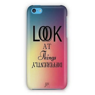 YuBingo Look at things differently Designer Mobile Case Back Cover for Apple iPhone 5C